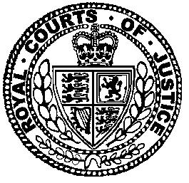 Royal Courts of Justice RCJ Seal - England & Wales