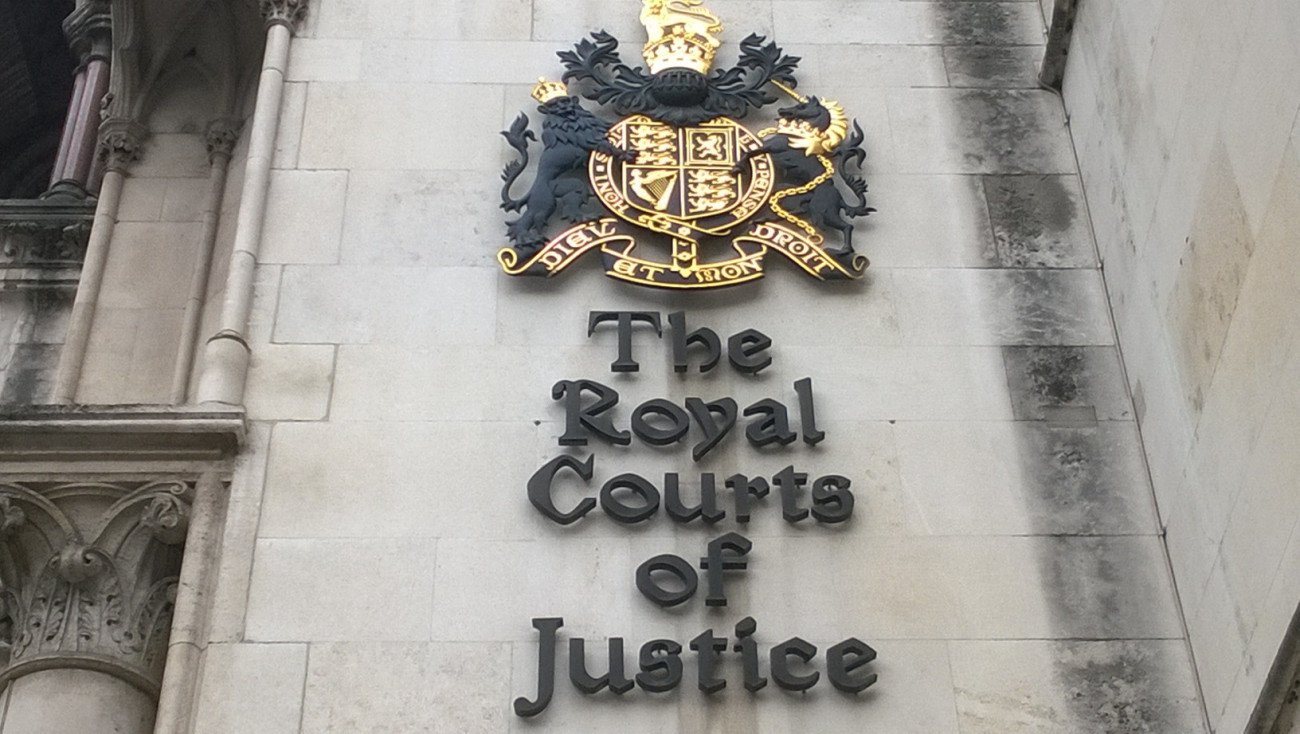 RCJ royal courts of justice logo sign strand lexlaw litigation solicitor barrister lawyer professional negligence london