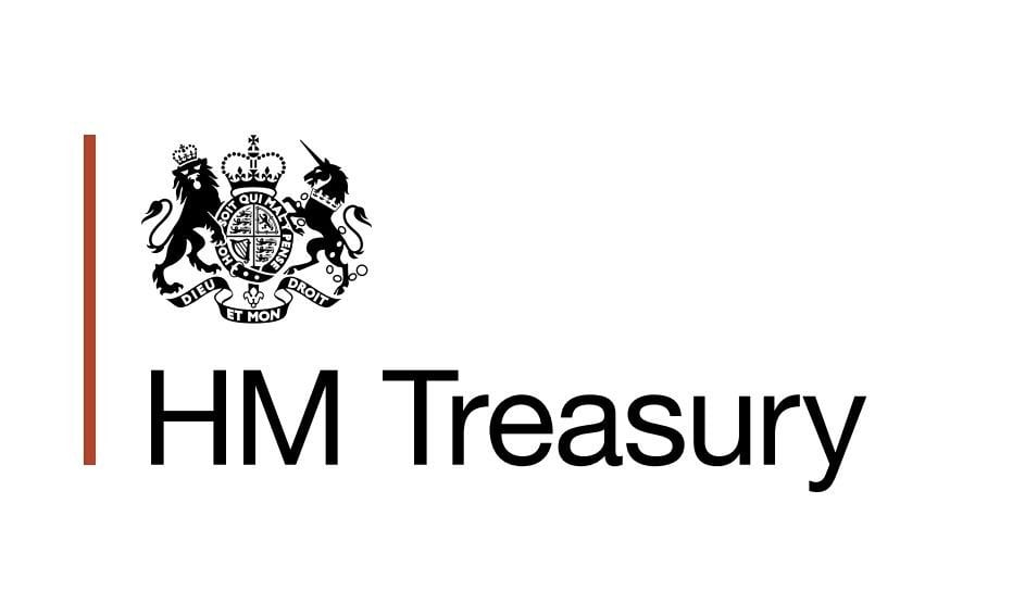 HM Treasury UK logo brexit lexlaw litigation bank solicitor lawyer barrister in london